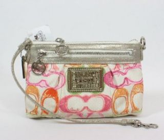 Coach Poppy Pop Dream Capacity Wristlet Clutch Bag 45183