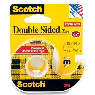 Double Sided Tape, 3/4 inch x 300 Inch, 1 Roll (237)