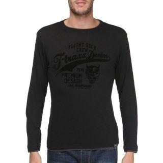 TRAXX T Shirt Homme Noir   Achat / Vente T SHIRT T TRAXX T Shirt