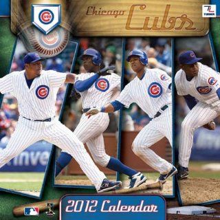 Chicago Cubs 2012 Team Wall Calendar Sports & Outdoors