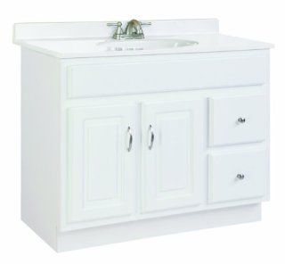 Design House 531293 Concord Ready To Assemble 2 Door/2 Drawer Vanity