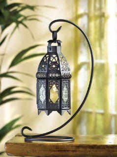 30 Wedding Black Moroccan Lantern with Stand: Sports