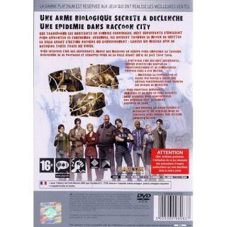 RESIDENT EVIL OUTBREAK Platinum / JEU CONSOLE PS2   Achat / Vente
