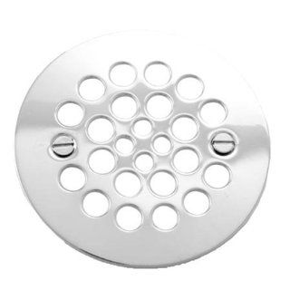 Brasstech 245/26 4 1/4 Inch Shower Strainer, Polished Chrome