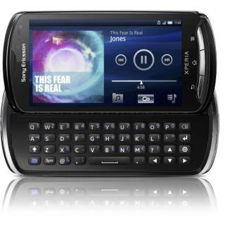 Sony Ericsson XPERIA pro Smartphone   Slider   Black