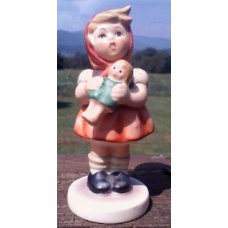 HUMMEL/GOEBEL Little Girl w/Doll #239/B 1967: Everything