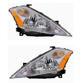 03 04 05 06 07 Nissan Murano Headlights Headlamps Head Lights Lamps