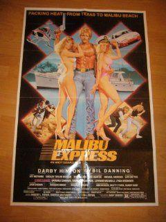 Malibu Express Original Movie Poster 1985