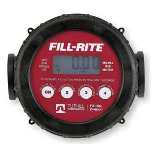 Fill Rite 820 Meter, Digital Flow, 1 In. FNPT
