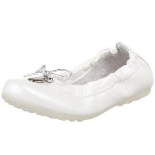 Alicia Ballet Flat,Parmalux Bianco,27 EU (US Toddler 10 M) Shoes