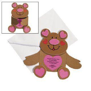 Bear Hug Valentine Cards Craft Kit   Crafts for Kids