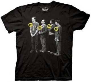 Big Bang Theory Dr. Dr. Dr. Mr. T Shirt, XXXL Clothing