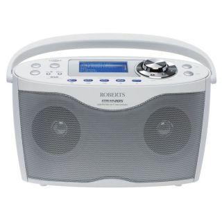 Stream 205 Radio Internet avec DAB/FM   Blanc   Le ROBERTS STREAM 205
