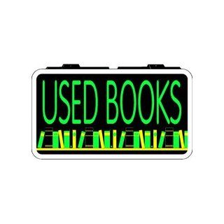 Used Books Backlit Sign 13 x 24