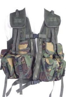 Web Tex British Military Combat Vest , Camouflage