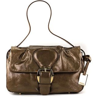 Furla Nika Ottone Leather Hobo Bag