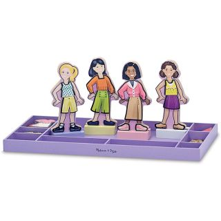 Melissa & Doug Best Friends Forever Magnetic Dress Up Play Set Today