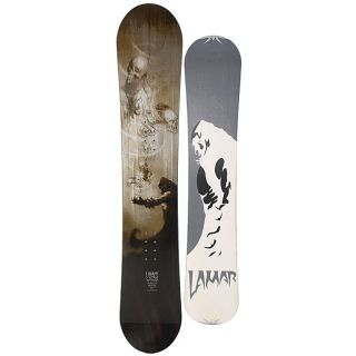 Lamar Mens Intrigue Skull Design 163 cm Directional Snowboard