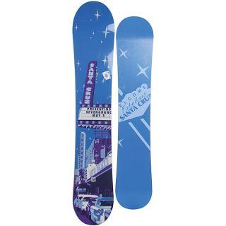 Santa Cruz Mens Blue Seth Huot Pro TT 155cm Snowboard
