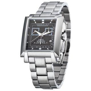 Hamilton Mens Trent Stainless Steel Quartz Watch