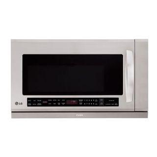 LG Stainless Steel Over range 2 cu ft 1100 watt Microwave