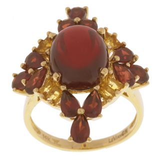 Encore by Le Vian 14k Gold Garnet & Citrine Ring