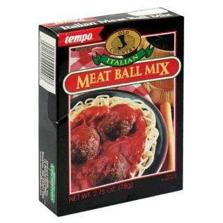 Tempo Italian Meat Ball Mix, 12 Count Box of 2.75 Ounce Packets