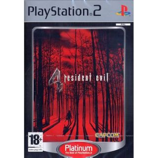 RESIDENT EVIL 4 / PS2 Platinum   Achat / Vente PLAYSTATION 2 RESIDENT