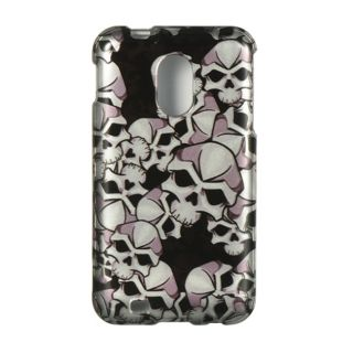 Premium Samsung Galaxy S II Epic 4G Touch Black Skull Protector Case