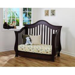 Million Dollar Baby Ashbury Deep Espresso 4 in 1 Convertible Crib