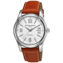 Frederique Constant Mens Junior Automatic Leather Strap Watch