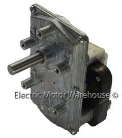 Dayton AC Parallel Shaft Gear Motor 4 RPM 1/250hp 115v, 60hz Model