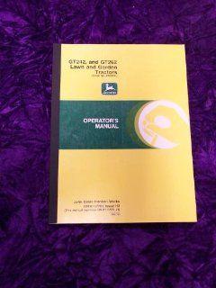 John Deere GT242/GT262 OEM OEM Owners Manual John Deere