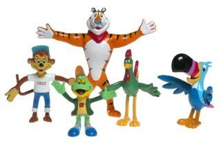 Kelloggs Characters Bendable Magnet Set Toys & Games