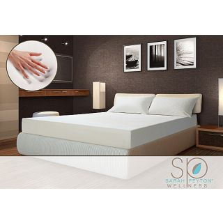 Sarah Peyton Soft Support 10 inch King size Memory Foam Mattress and