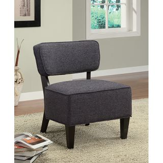 Fabric Accent Grey Lounge Chair