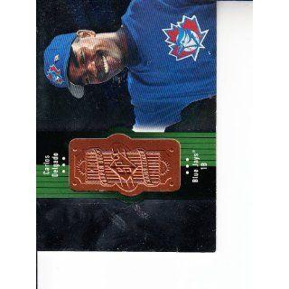 1998 SPx Finite #138 Carlos Delgado Baseball: Everything