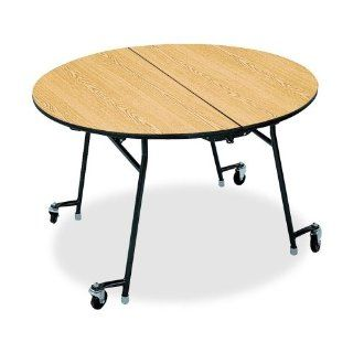 HONRN2960DDP   Cafeteria Round Tables, 60x29, Natural