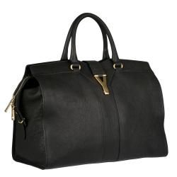 Yves Saint Laurent Black Cabas Chyc Tote