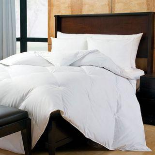 Sateen 400 Thread Count Cotton Hypoallergenic Down Comforter