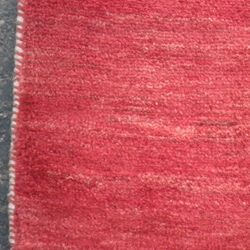 Persian Handmade Red Gabbeh Wool Rug (6 x 78)