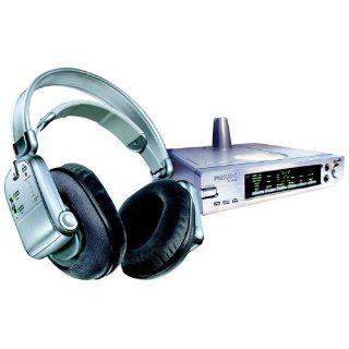 Philips SBC HD 1500 Funk analog Kopfhörer silber