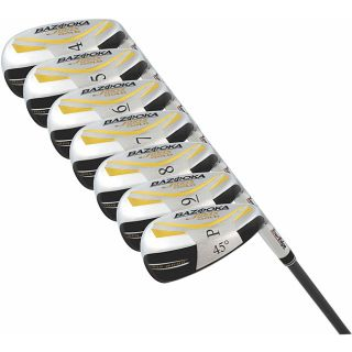 Tour Edge Bazooka JMax Gold 7 piece Iron wood Graphite Set
