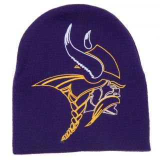 Minnesota Vikings Big Logo Stocking Hat