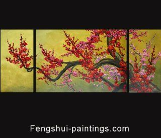 Feng Shui Painting Chinese Cherry Blossom Painting 244