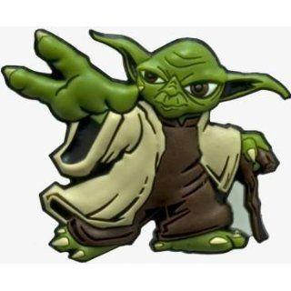 Crocs Yoda   Star Wars Jibbitz Sport & Freizeit