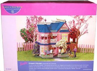 Department 56 BARBIE Porcelain DREAM HOUSE with Lights