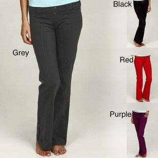 Pezzi Sport Womens Belted Activewear Pants