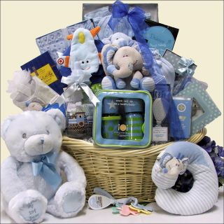 Great Arrivals Grand Welcome Baby Boy Gift Basket Today: $447.99