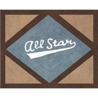 Sweet Jojo Designs All Star Sports Accent Floor Rug